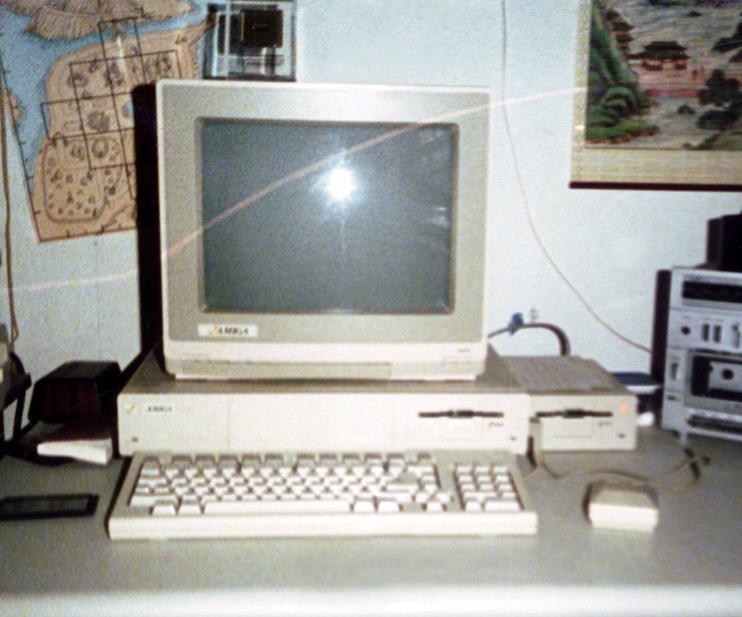 Amiga 1000 from 1985