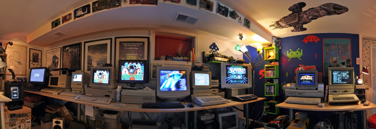 Half of the Byte Cellar room